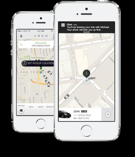 Uberpool Iphone 5s