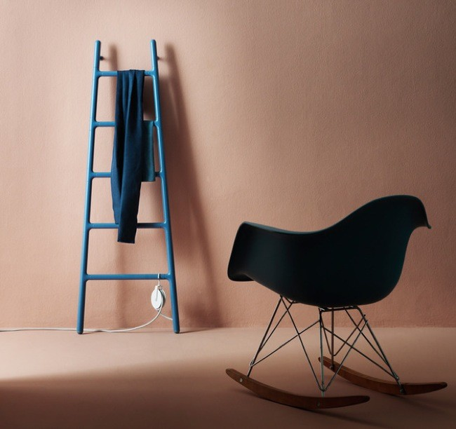 Radiador en invierno escalera decorativa y de almacenaje for Scaletta decorativa