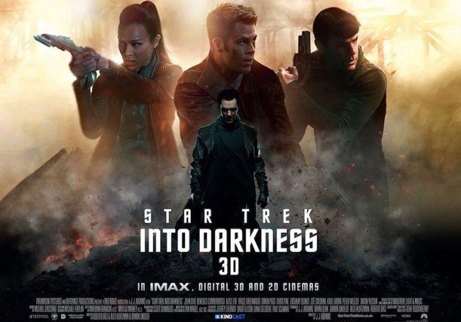 Cartel de Star Trek en la Oscuridad