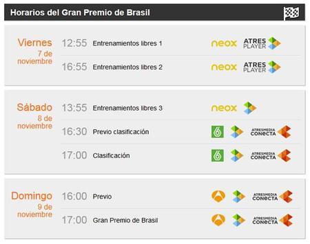 Horarios Brasil