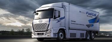 El camión de hidrógeno de Hyundai se refuerza con 469 CV y 400 km de autonomía antes de ponerse a trabajar en Europa