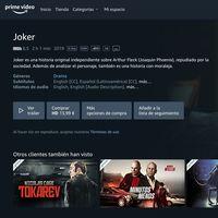 Las películas que compras en Prime Video no te pertenecen, y una usuaria denuncia a Amazon por ello