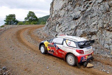 Rally Acrópolis 2012: Sébastien Loeb se encarama al liderato