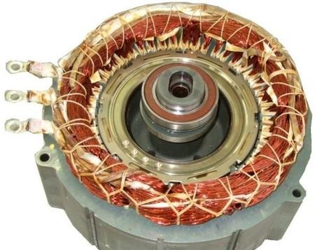 Motor eléctrico vehículo híbrido