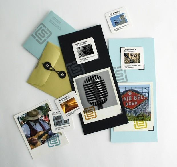 Ideas originales de Tarjetas de visita para fotógrafos