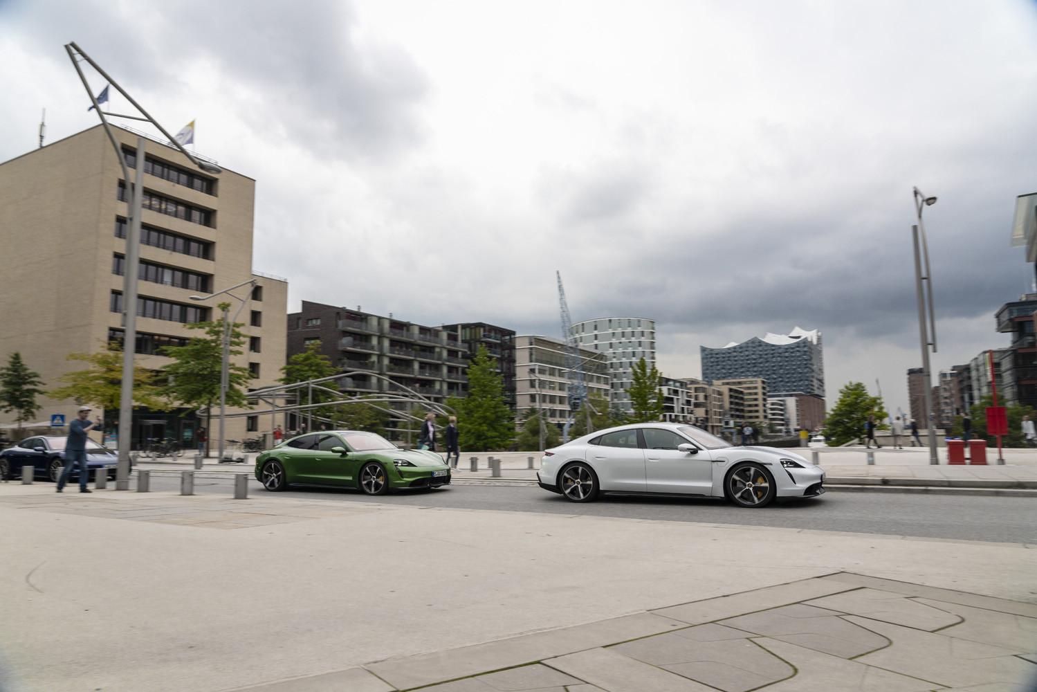 Foto de Porsche Taycan prueba contacto (142/275)
