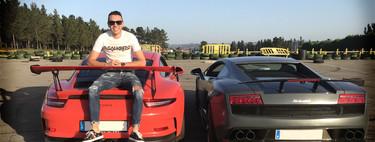 """Iago Aspas, todo un amante de los coches: """"Prefiero escuchar el sonido del motor que el fútbol en la radio del coche"""""""