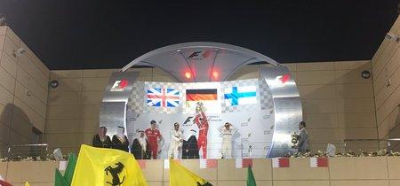 Sebastian Vettel vuelve a imponerse a los Mercedes en el GP de Baréin de F1