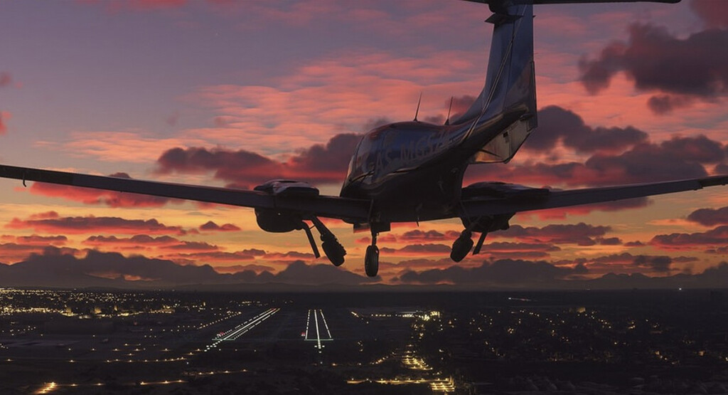 Si vuelas en avión y juegas a Flight Simulator realizando ese trayecto, ¿llegarán el avión real y el virtual a la vez? Alguien lo ha probado