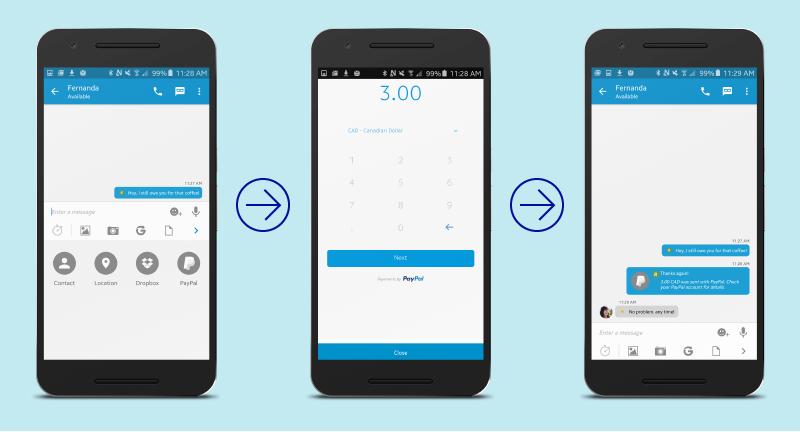 BBM estrena los pagos entre amigos a través de PayPal