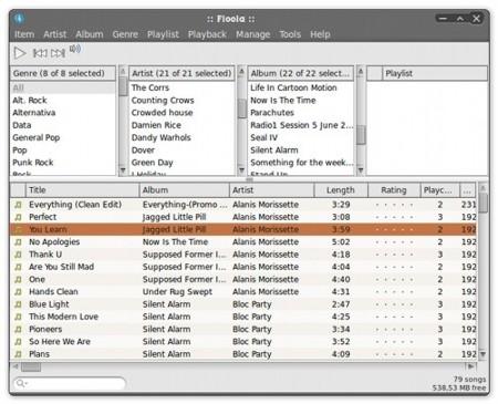 Nueva versión de Floola, el gestor de iPod's multiplataforma