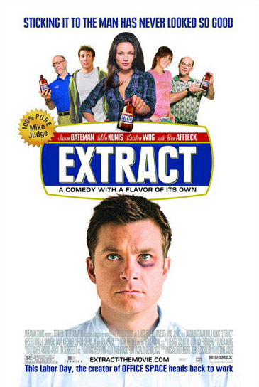 'Extract', de Mike Judge, carteles, tráiler y extracto