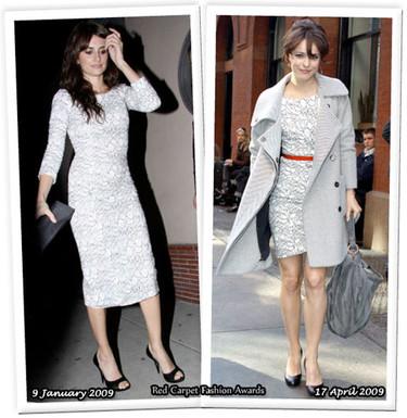 Vestido de L'Wren Scott:¿Penélope o Rachel?