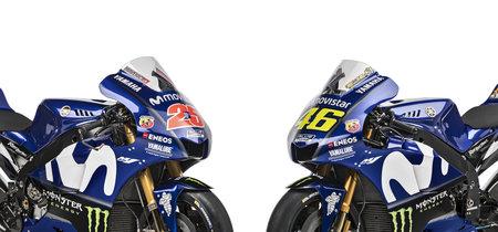 Aquí tienes 70 fotos para conocer cómo serán las Yamaha YZR-M1 de Rossi y Viñales en 2018
