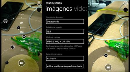 Nokia Lumia 1020 - Controles manuales