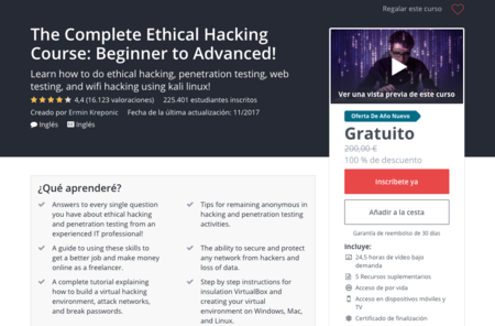 The Complete Ethical Hacking Course Beginner To Advanced Udemy 2018 01 03 15 21 32