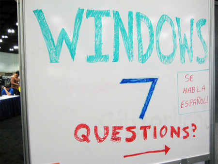 Windows 7 questions