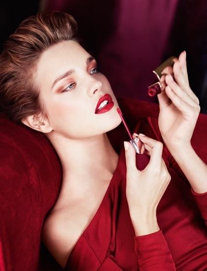 Natalia Vodianova presenta la nueva campaña de Guerlain para el Otoño-Invierno 2012/2013