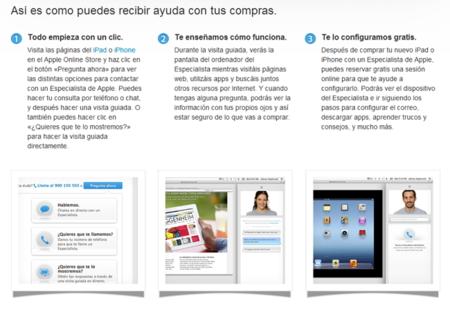 """""""Sesión online para configurar tu iPhone o iPad"""", un nuevo servicio en la Apple Online Store, ya disponible"""