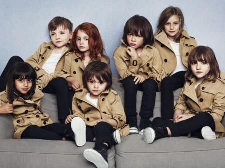 Burberry Spring Summer 2014 Childrenswear Campaign