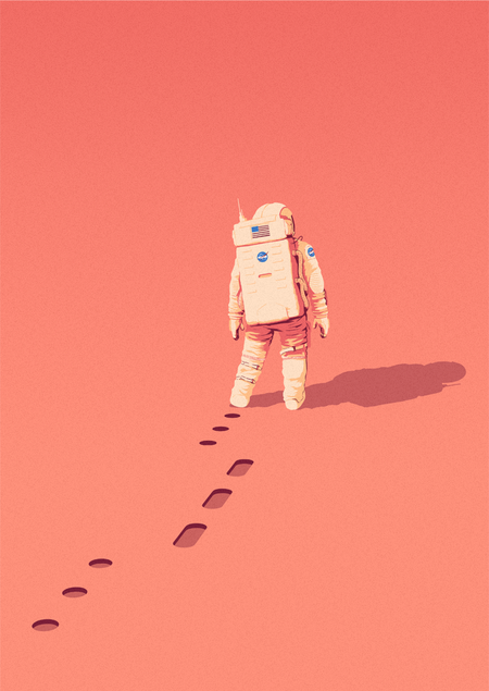 The Martian ilustracion