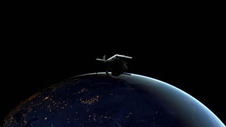 La primera misión para retirar basura espacial será lanzada por la ESA en el año 2025