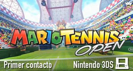 'Mario Tennis Open': primer contacto
