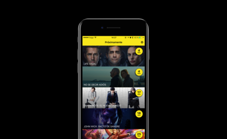 Con Morfilms ya no te tienes que preocupar de cuándo se estrena una película: App de la Semana