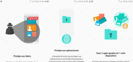 Samsung sigue llevando sus apps a la Play Store: ahora le toca el turno a Carpeta Segura