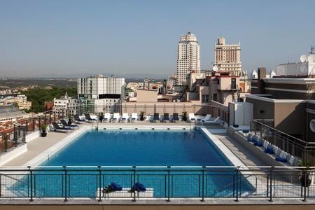 Hoteles con piscina en Madrid