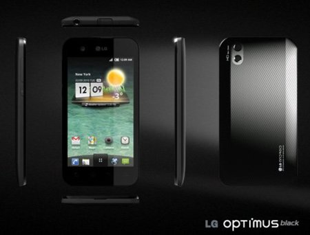 LG Optimus Black: ultra fino, con pantalla NOVA y CPU de doble núcleo