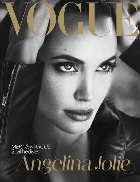 Sólo podría ser Vogue y sólo con Angelina Jolie