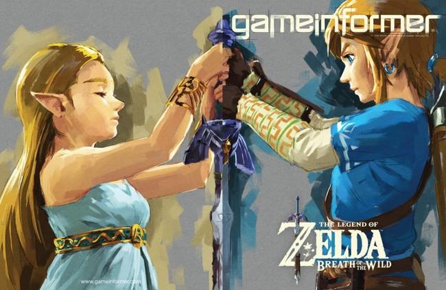 Zelda Breath Of The Wild Gameinformer