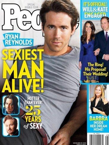Ryan Reynolds, el más guapo del mundo mundial