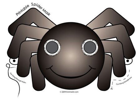 Araña imprimible