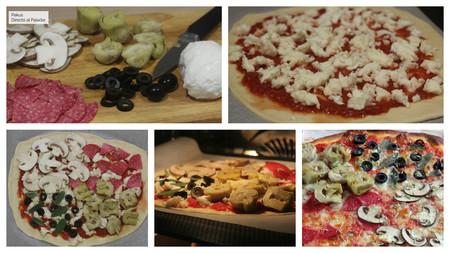 Pizza 4 Estaciones Pakus Directo Paladar Pasos