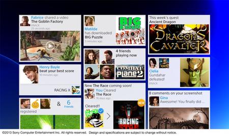Así es la interfaz del PlayStation 4