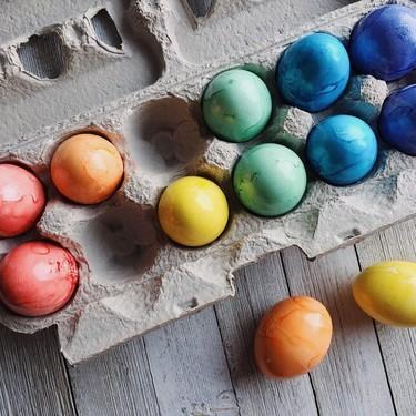 Siete originales ideas para decorar huevos de Pascua con niños