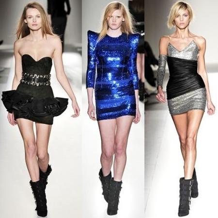 Balmain otoño-invierno 2009/2010 en la Semana de la Moda de París