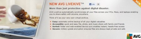 AVG LiveKive promete darnos espacio ilimitado en la nube por 80 dólares al año