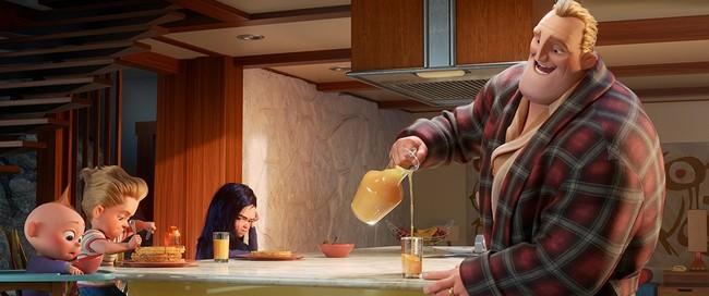 Cuando papá se queda en casa y se da cuenta de todo lo que hace mamá: 'Los Increíbles 2'