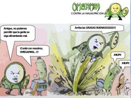 Omegaman: un superhéroe de la alimentación
