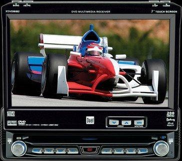 Reproductor de vídeo para el coche compatible con iPod
