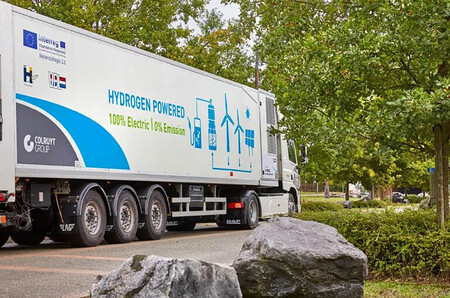 Colruyt Primer Camion Hidrogeno 44 Toneladas Europa