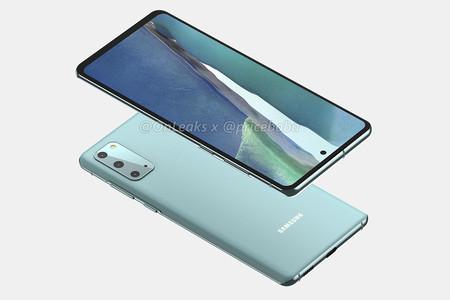 Samsung Galaxy S20 Fan Edition: primeros renders de cómo luciría la versión barata del gama alta de Samsung