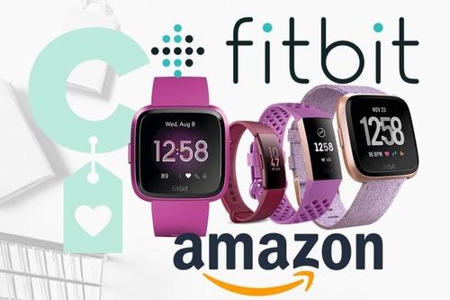 Selección de relojes y pulseras Fitbit en Amazon, para pagar menos por tener nuestra actividad bajo control este curso