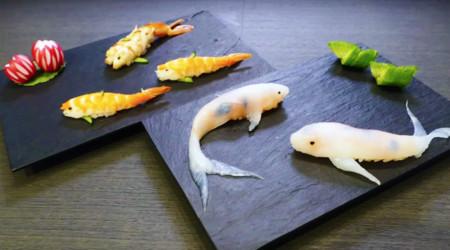 Cuando el sushi se convierte en arte y nos encanta