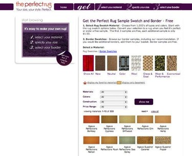 Diseña tus propias alfombras