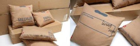 Cojines de cartón
