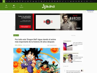 """Cambio de """"look"""": Xataka estrena nuevo diseño"""
